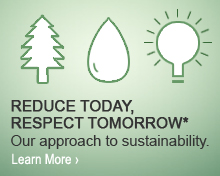 Reduce Today, Respect Tomorrow: Our approach to sustainability