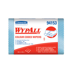 94153 WYPALL* Color Coded Heavy Duty Wipers - Blue
