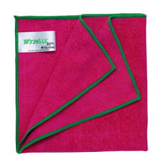 84980 WYPALL* Microfiber with MICROBAN - Red