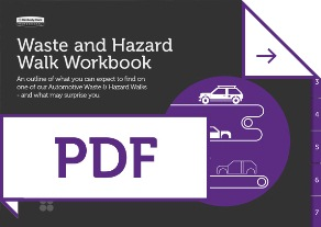 Automotive Waste and Hazard Workbook